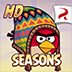 Angry Birds Seasons HD logo