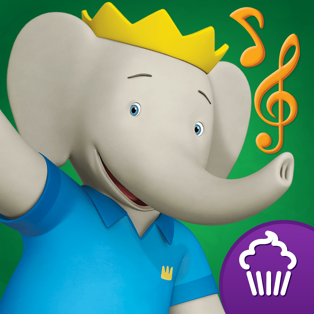 mzl.zwrchdpp Featured App: Babar & Badous Musical Marching Band by Cupcake Digital